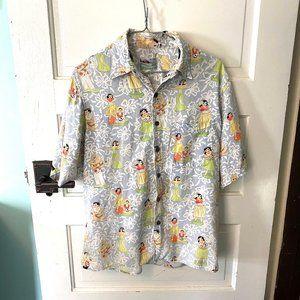 Vintage Reyn Spooner Hula Girls Hawaiian Shirt S